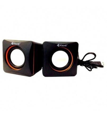Haut-parleur KISONLI USB V400 - Noir