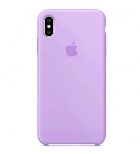 Coque Silicone Original Pour iphone XS MAX - Purple