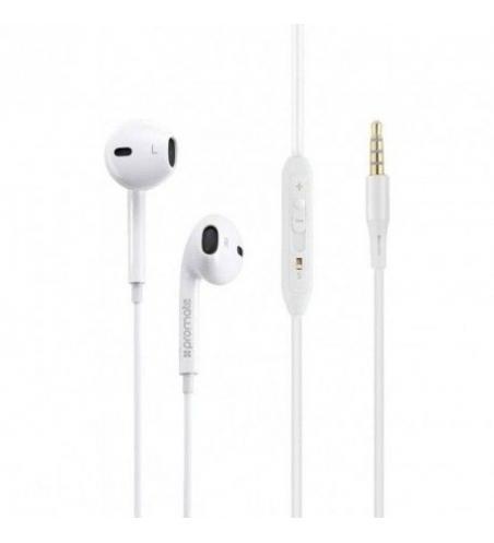 Écouteurs Stéréo PROMATE Gearpod-is2 - Blanc