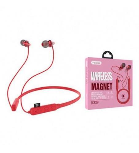 Écouteurs Sans Fil YOOKIE K339 - Rouge