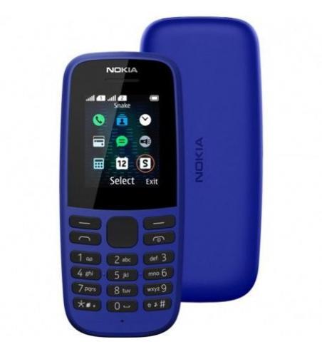 Téléphone Portable NOKIA 105 - Bleu