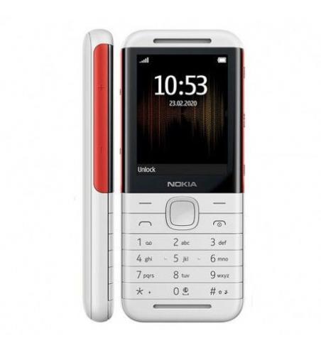 Téléphone Portable NOKIA 5310 - Blanc&Rouge