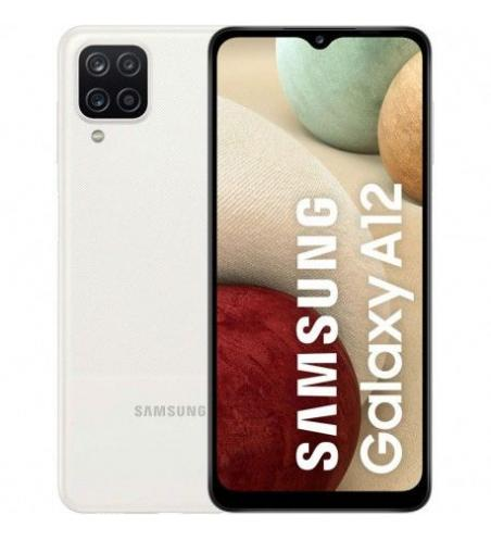 Smartphone SAMSUNG Galaxy A12 64Go - Blanc +