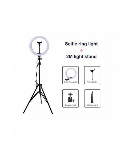 Ring light avec trépied anneau Lumière LED 0 out of 5
