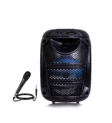 Globe Store GS - Bluetooth Speaker with Mic Black, ZQS-6115